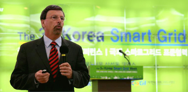 Samuel Sciacca at Korea Smart Grid